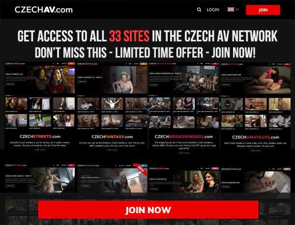 Czech AV Porn Site