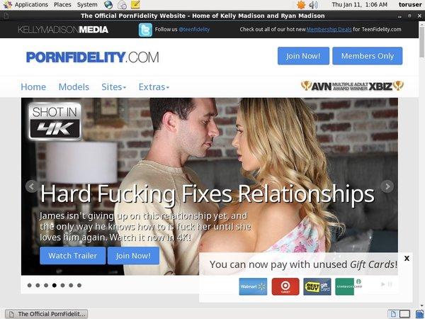 Porn Fidelity New Accounts
