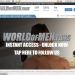 World Of Men Fans – Massage Site Rip New