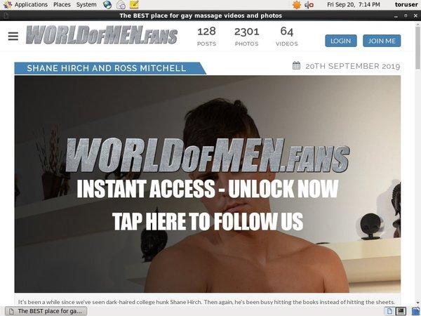 World Of Men Fans - Massage Site Rip New