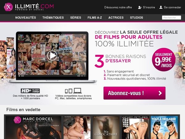 X Illimite Sign Up Discount