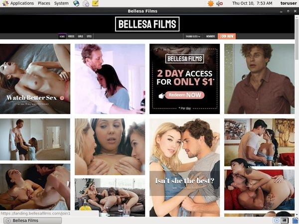 Bellesa Films Trial Price