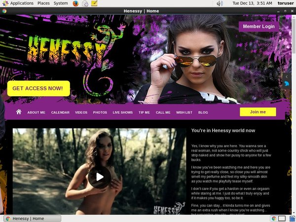 Free Full Henessy World Porn