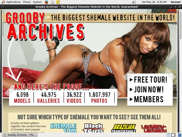 Free Login The Grooby Archives