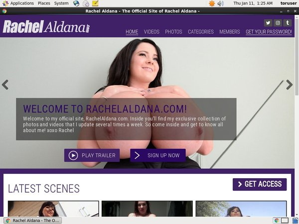 Discount Rachel Aldana Trial Offer