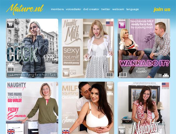 Mature.nl Free Memberships
