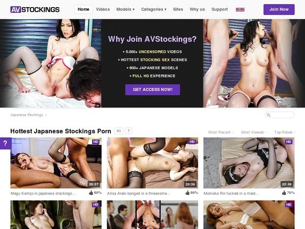 AV Stockings Free Username