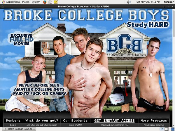 Broke College Boys Password Forum
