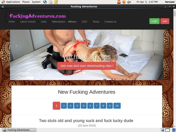 Fuckingadventures Free App