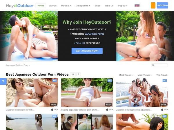 Heyoutdoor.com Mobile Account