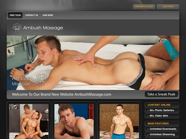 Trial Membership Ambush Massage