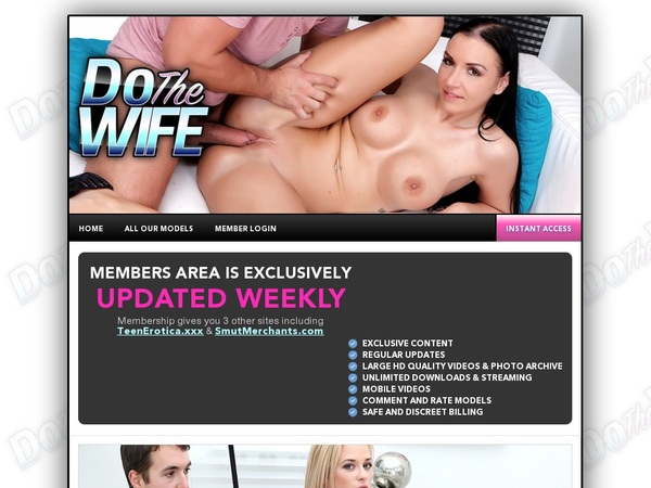 Dothewife.com Limited Promo