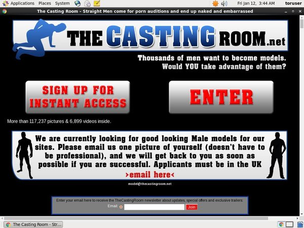 The Casting Room With Amex