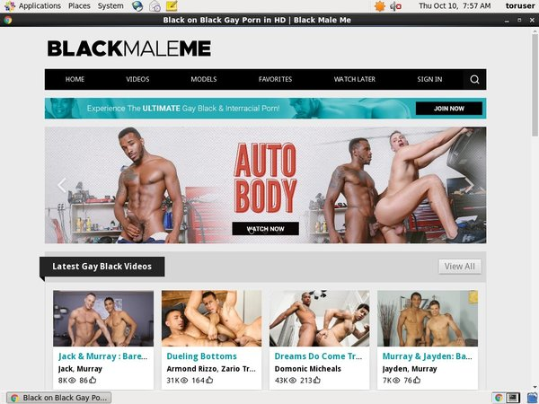 Discount Membership Black Male Me