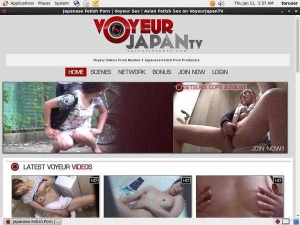 Discount Voyeur Japan TV Code
