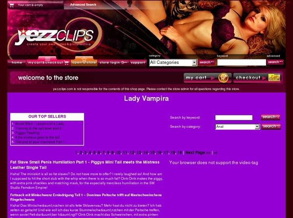 Lady Vampira Preview