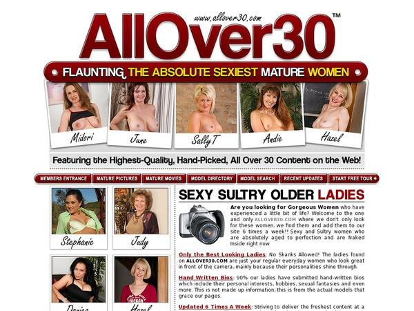All Over 30 Original Pwds