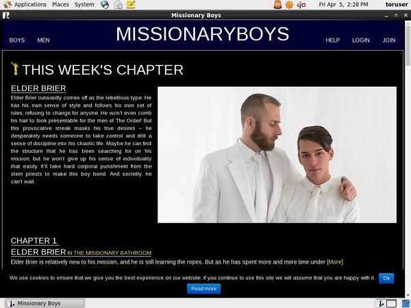 Free Missionary Boys Membership Trial