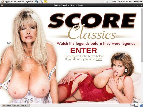 Scoreclassics.com Sale Price