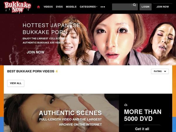 Free Account Bukkakenow.com Offer