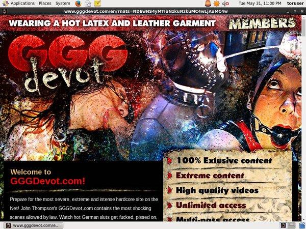 Get GGG Devot Trial