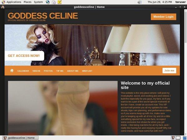 Trial Goddess Celine Membership